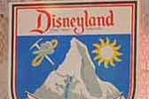 Bavarian themed Vintage Travel Decal commemorates Disneland's Matterhorn ride attraction