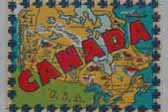 Rare Vintage Travel Decal honors Canada