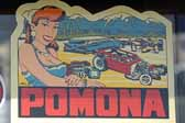 Vintage Travel Decals from the Famous Vintage Car Pomona Swap Meet in Pomona, California