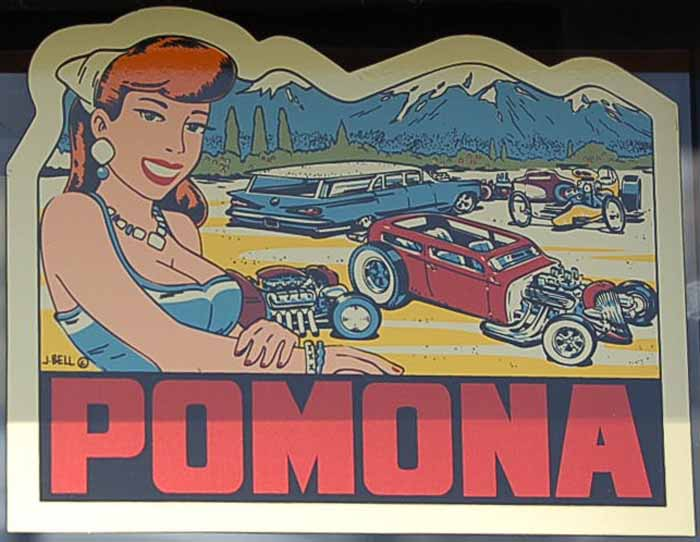 Vintage Travel Decal From The Pomona Swap Meet in California