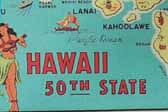 Rare Early Vintage Travel Decals from the Hawaiian Islands