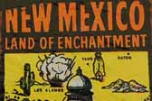 Vintage Travel Decals from New Mexico, Land of Enchantment